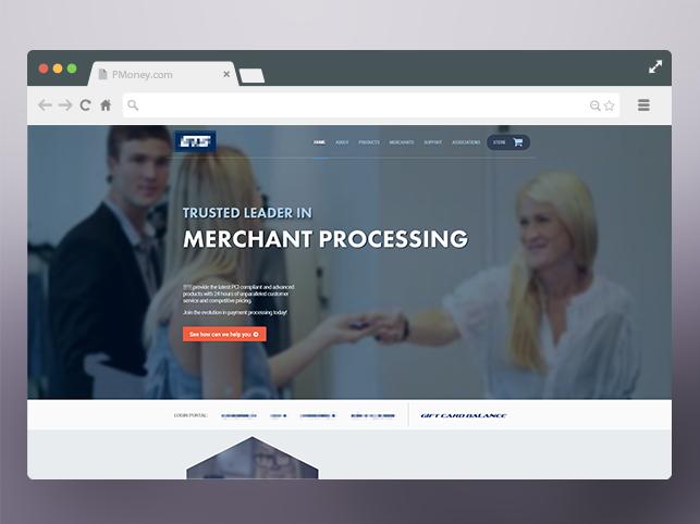 PMoney website redesign 2014