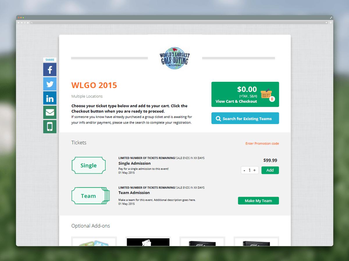 WLGO Ticketing and EMoney Events